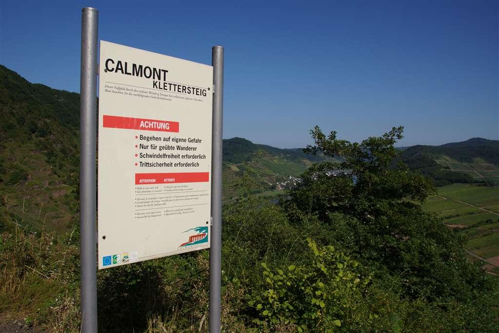 Klettersteig Mosel : Todeangst über der mosel u calmont klettersteig lieblingsplätze